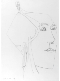 Woman with Earrings by George Fullard