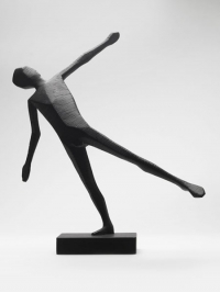 Balanced Man Maquette by Terence Coventry