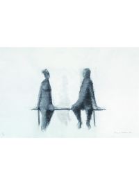 Talking Couple by Terence Coventry