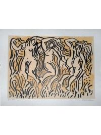 Three Dancers by Harold Ambellan
