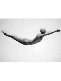 Swimmer by Terence Coventry