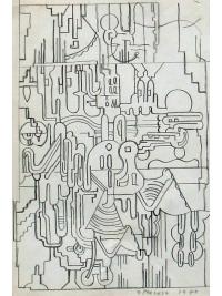 Untitled by Eduardo Paolozzi