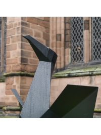 Steel Cormorant I by Terence Coventry