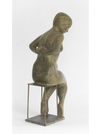 Undressing Woman by Terence Coventry