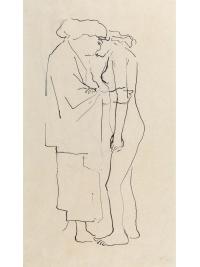 The Embrace by George Fullard