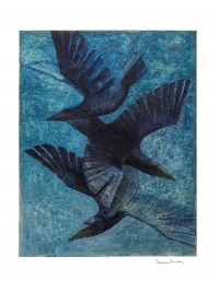 Spiralling Rooks by Terence Coventry