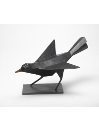 Listening Blackbird by Terence Coventry
