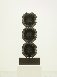 Crystalline Tower (Black) by Halima Cassell