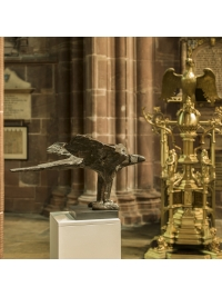 Eagle (lectern) by Elisabeth Frink