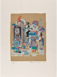 Untitled 1990 by Eduardo Paolozzi
