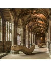 Serpentine Vessels by David Nash