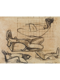 Study for Sculpture by F E McWilliam
