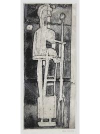 Standing Figure by Robert Clatworthy