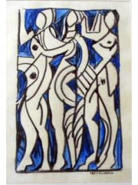 Les Trois Reines by Harold Ambellan