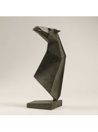 Horse Head Maquette II by Terence Coventry