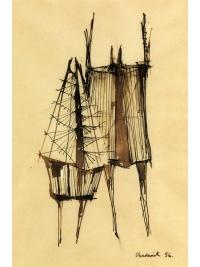 Lynn Chadwick: draughtsman