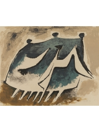Family Going for a Walk by Kenneth Armitage
