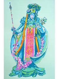 Goddess of Fallen Blooms by Lorraine Robbins