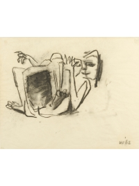 Girl with Skirt by Kenneth Armitage