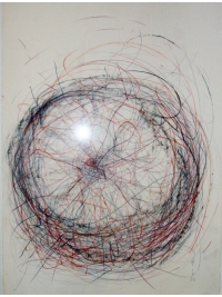 Study for Empty Spheres II by Almuth Tebbenhoff