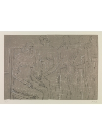 Group of Figures by Henry Moore