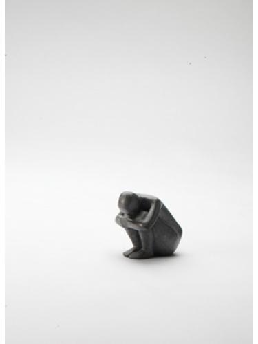 Miniature Crouching Figure