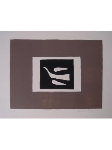 Bird in Grey Frame