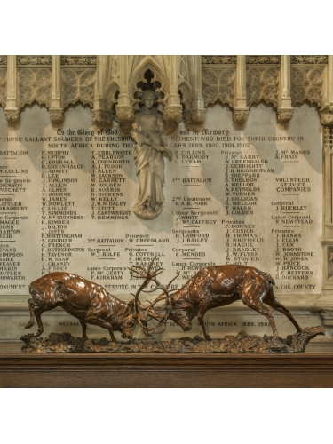 Red Deer Stags 'The Duel'