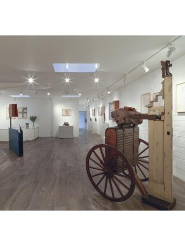 Sculpture and Survival Exhibition View 1