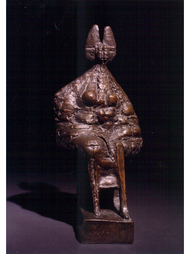 Seated Queen Maquette