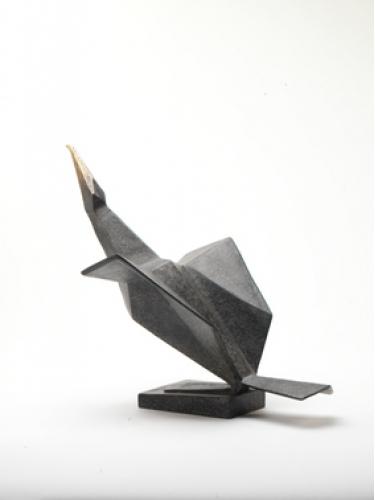 Maquette for Cormorant II