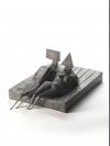 680 Two Lying Figures on Base II by Lynn Chadwick