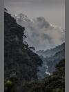 Snow on the Peaks by Steve Russell