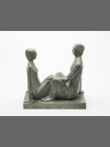 Couple I Maquette by Terence Coventry
