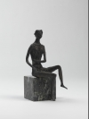 Seated Girl 1 by John Bridgeman